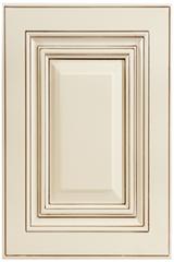 Antique White Cabinet Door